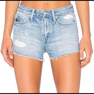 Lovers + Friends Jack High - Rise Denim Shorts